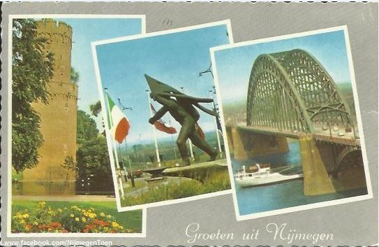 Ca. 1975: Groeten uit Nijmegen!  Ansichtkaart Like & share! http://www.facebook.com/NijmegenToen