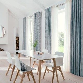 Create The Perfect Scandi Theme Pair This With Bright Pops Of Colour Is Soft Furnishings Such As Horizon Salmon Made To Measure Curtains Add A Lovely
