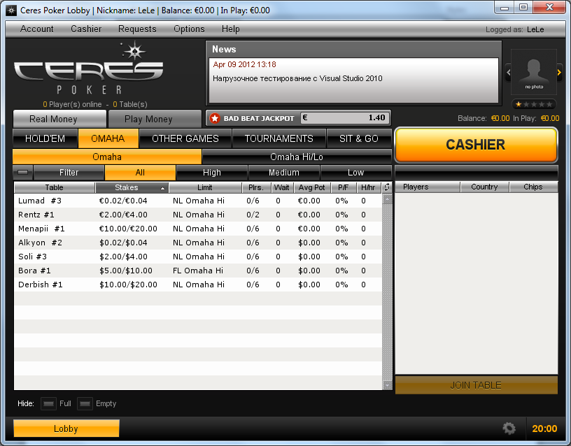 Free online poker win money