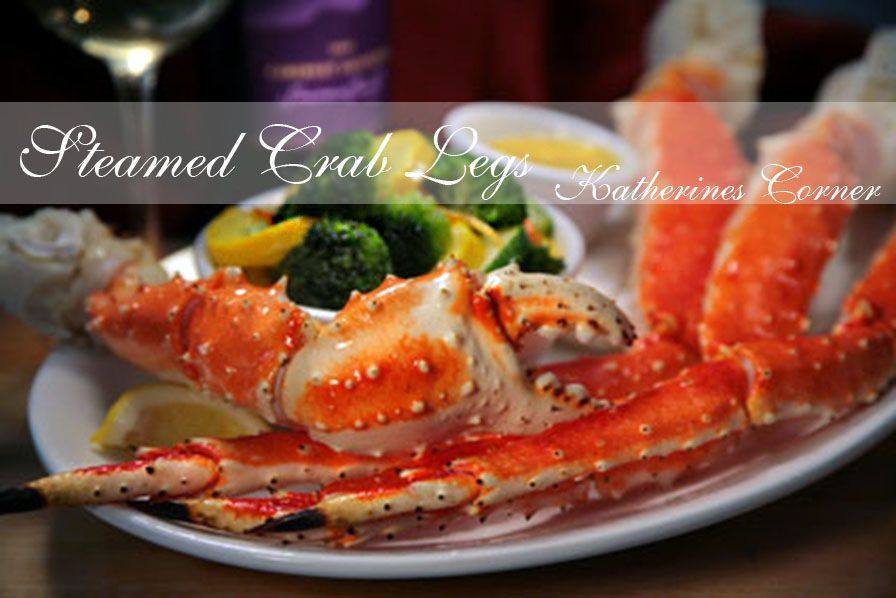 Steamed Alaskan King Crab Steamed Crab Legs Steamed Crabs And