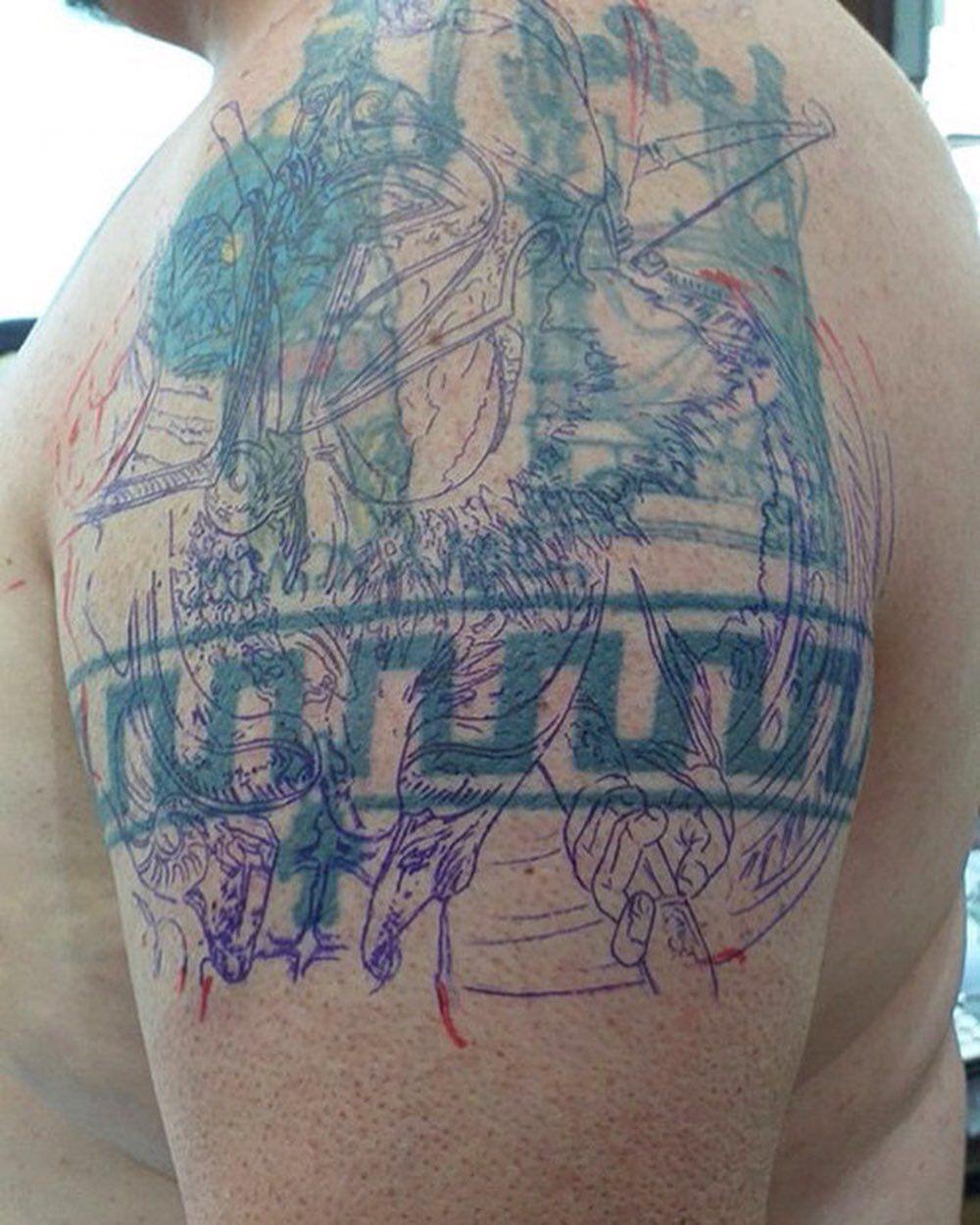 So serious . #tattoo #tattoos #tattoorealism #tattoothailand #inked #tattoopattaya #artist #drawing #fusion_in...  So serious . #tattoo #tattoos #tattoorealism #tattoothailand #inked #tattoopattaya #artist #drawing #fusion_ink #blackandgraytattoos #300 #spartantattoo #thailandtattoo