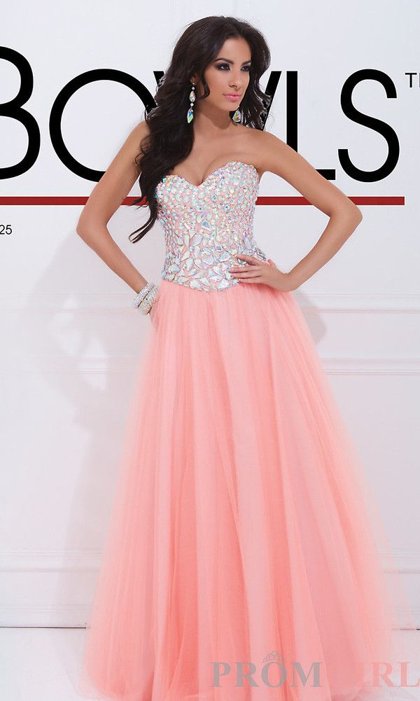 Pink bejeweled chiffon formal gown | Formalwear! | Pinterest | Prom ...