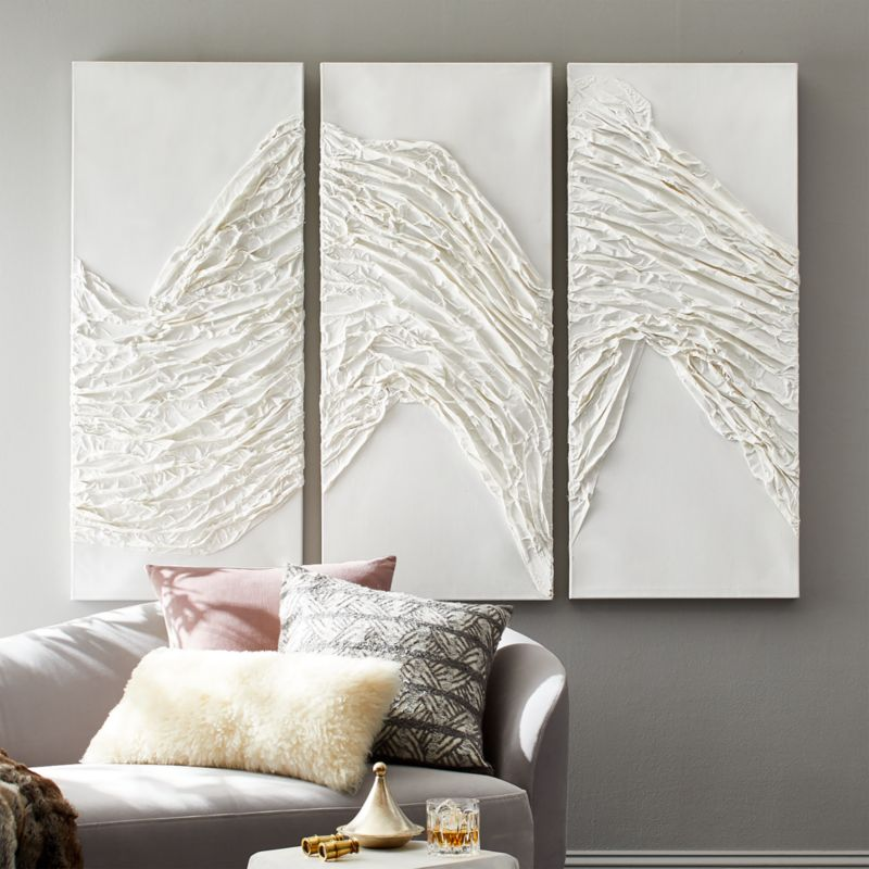 On Sale Shop Solace Wall Art Set Of 3 Art Piece Triptych Is Morning S First Look Inspired By The Way The Li Wall Art Sets Modern Wall Decor Modern Wall Art
