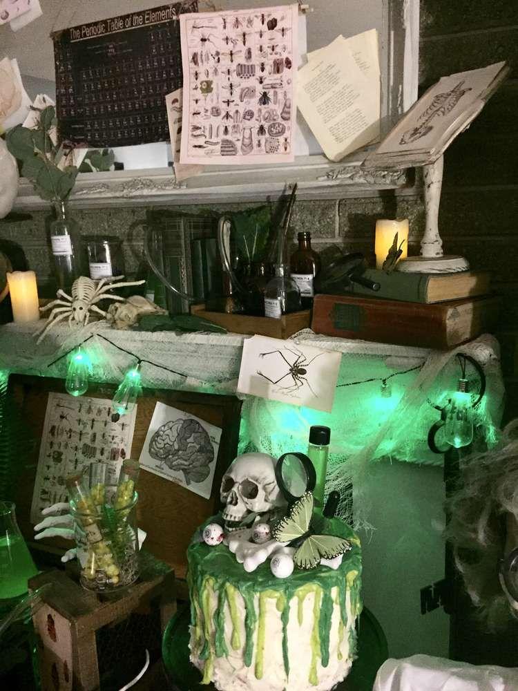 Mad Science, Science, Weird Science Birthday Party Ideas Birthdays - mad scientist halloween decorations