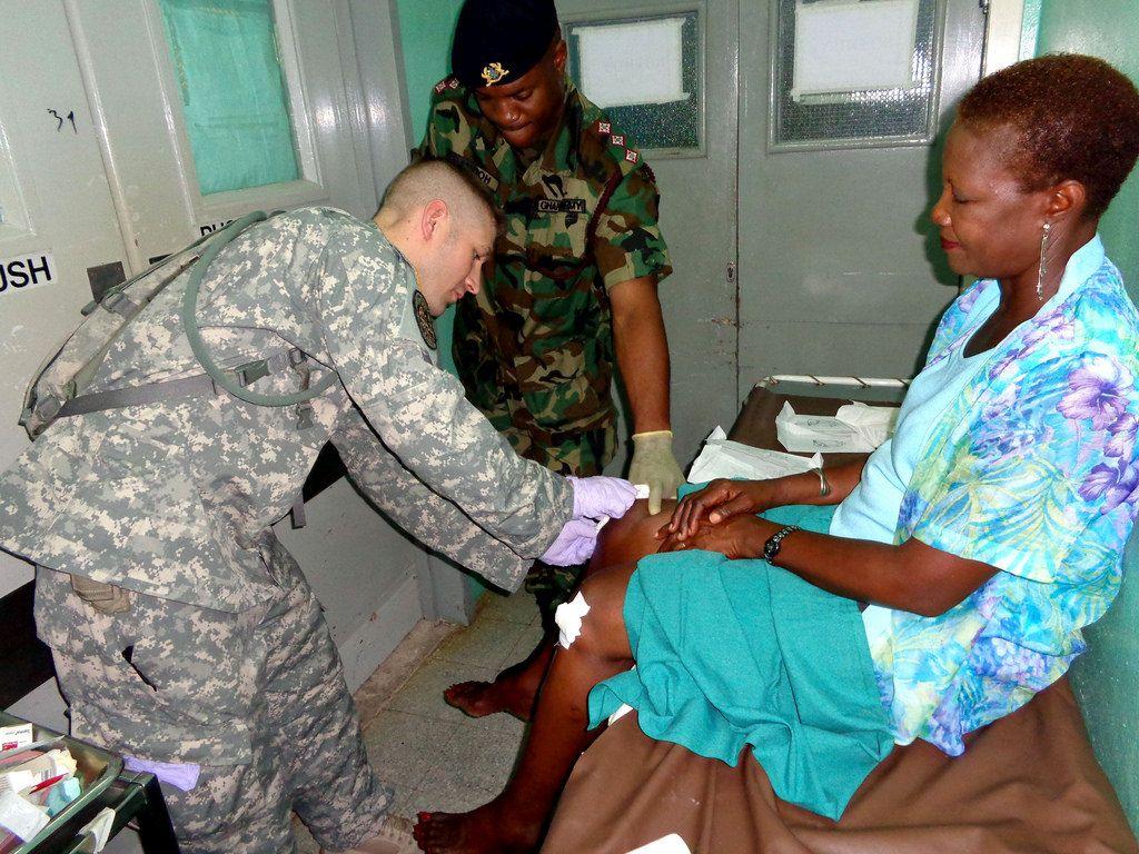 Staff Sgt. Michael Clark, 405th Combat Support Hospital