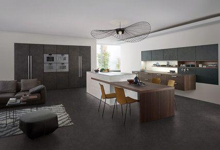 Topos stone holz modern style küchen küchen marken einbauküchen