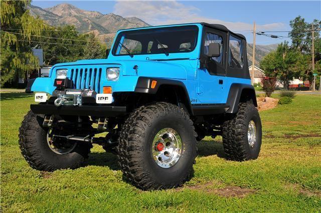 You Will Be Mine Jeep Yj Blue Jeep Jeep