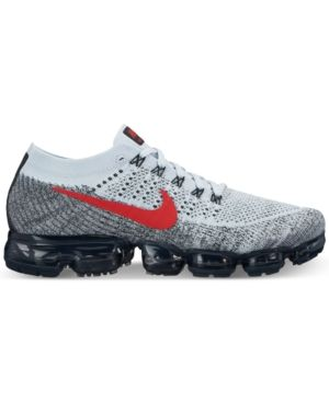 designer fashion 2b88e 40300 Nike Men's Air VaporMax Flyknit Running Sneakers from Finish ...