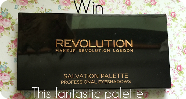 Win Makeup Revolution Salvation Girls on Film palette | Glitz and Glamour Makeup: Beauty and Lifestyle Blog #win #competition #makeuprevolution #makeuprevolutioneyeshadowpalette