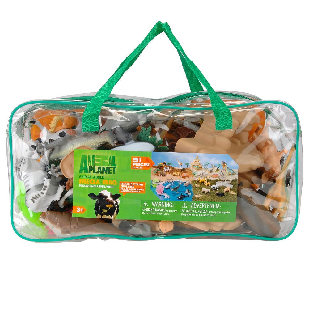 Best Animal Planet Toys For Kids And Toddlers : Animal planet world mega bag playset toys r us