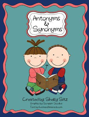 Antonyms and Synonyms | bilingual Daily 5 freebie | Pinterest | Free ...