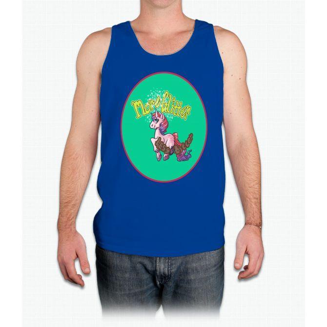 More Glitter Unicorn - Mens Tank Top