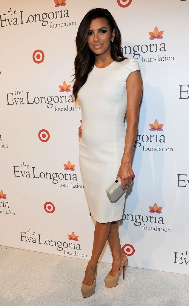 Eva Longoria, hosting a pre-ALMA Awards dinner on September 15, 2012.