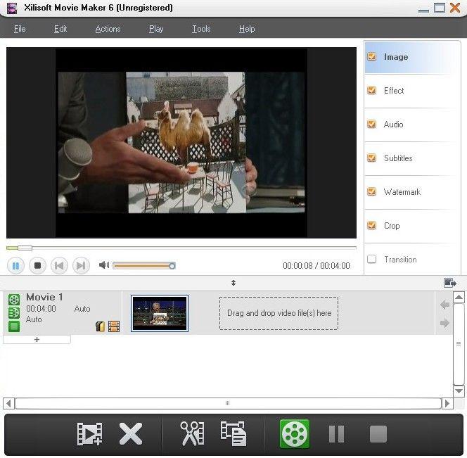Xilisoft movie maker инструкция