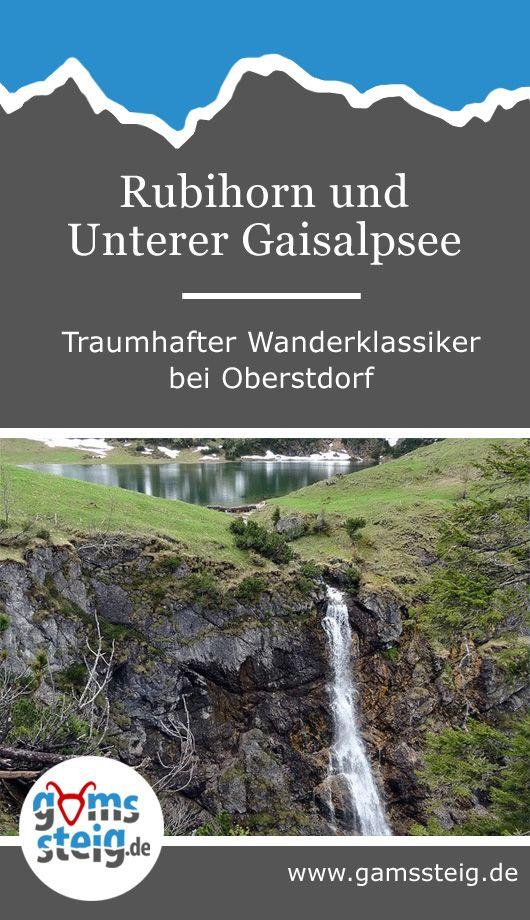 Rubihorn und Gaisalpsee im Allgäu