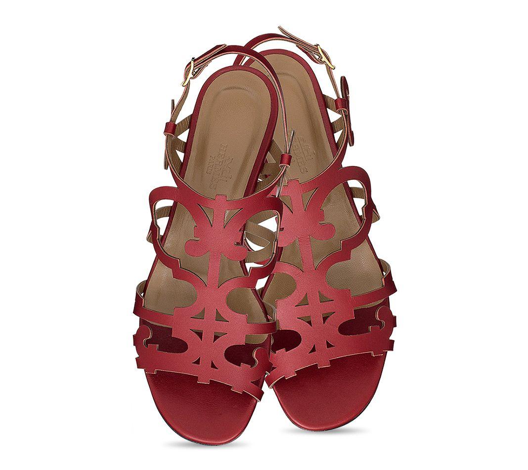 Chaussures Hermès Karlotta - Sandales - Femme   Hermès, Site Officiel 962fb5b38b8