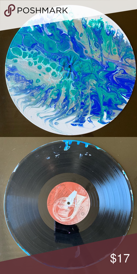 Vinyl Record Painting Vinyl Records Vinyl Original Artwork