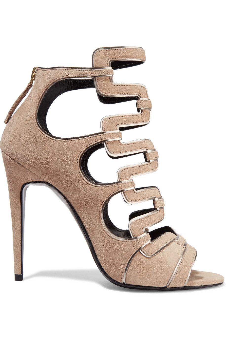 buy cheap purchase discount cheap price Pierre Hardy Suede Cut-Out Sandals azjdvW