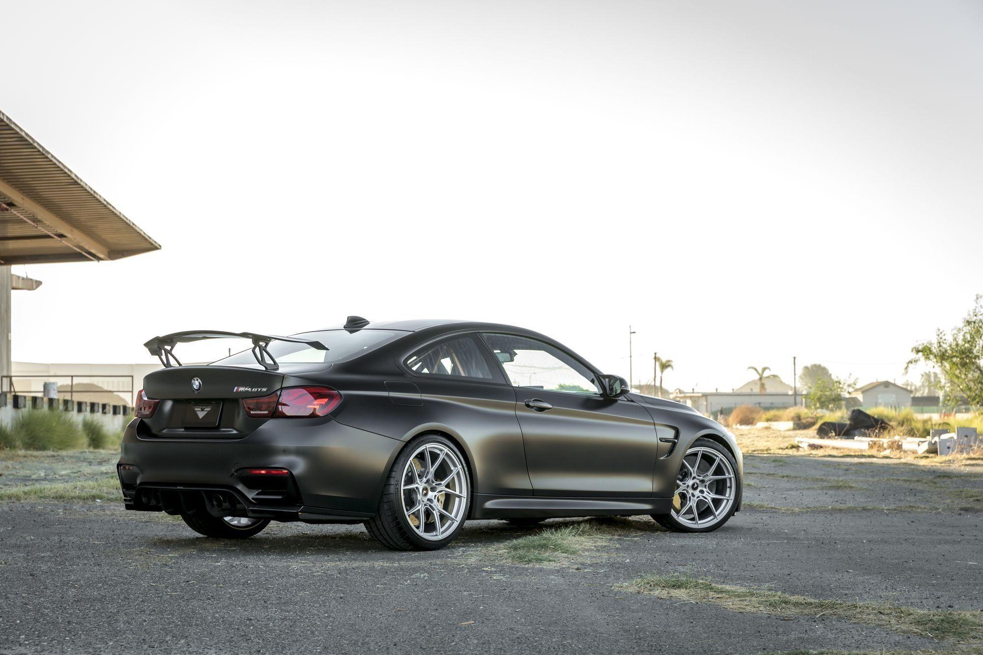 Bespoke Dropped Black Matte BMW 4-Series is a Big Boss ...