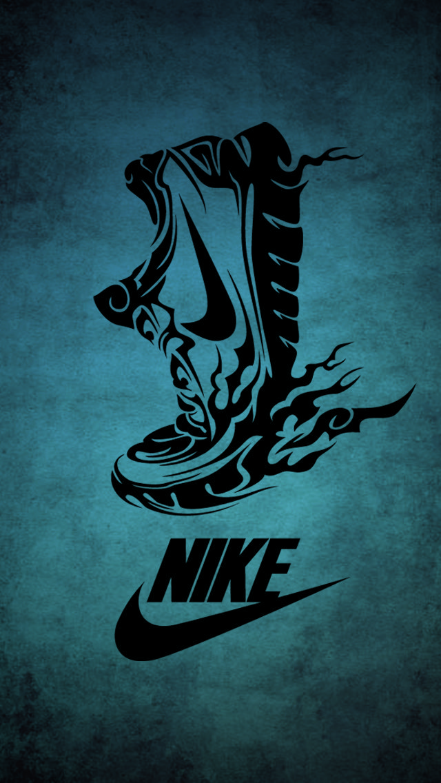 Running Nike IPhone 5 Wallpaper 640x1136