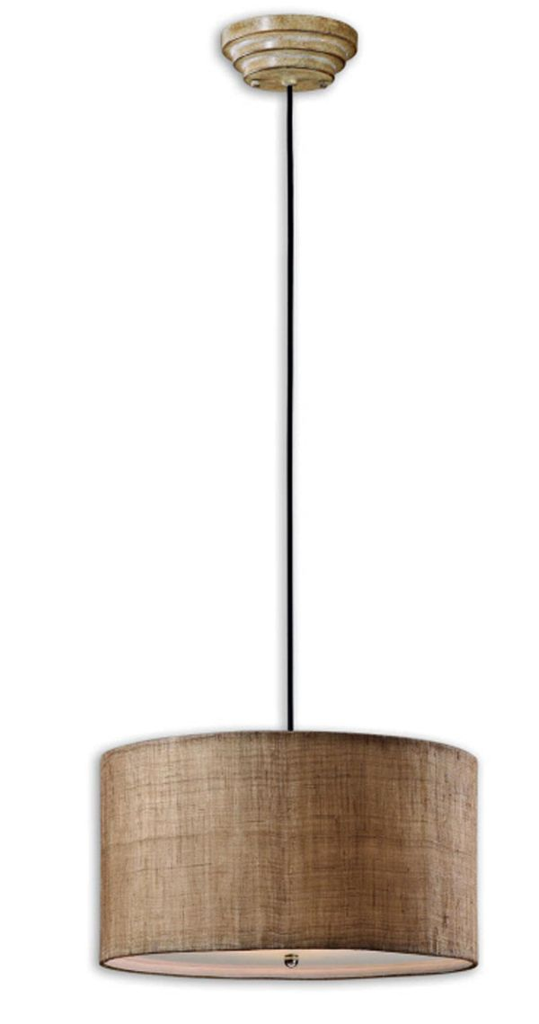 Burlap Drum Shade Chandelier – Chandeliers Design:1000 Images About Lighting On Pinterest Traditional Gl,Lighting