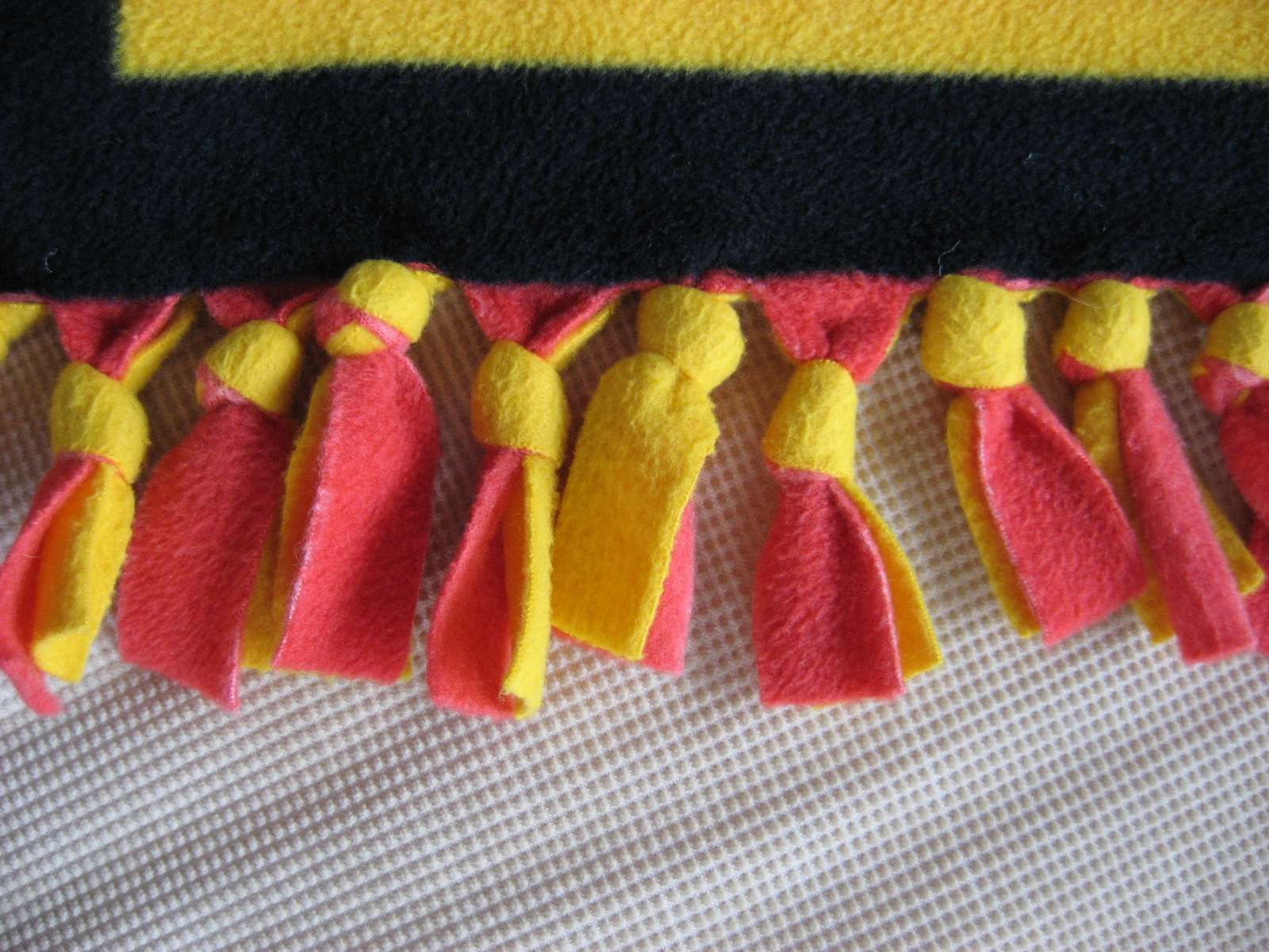 Tie Blankets Sewing fleece, Fleece crafts