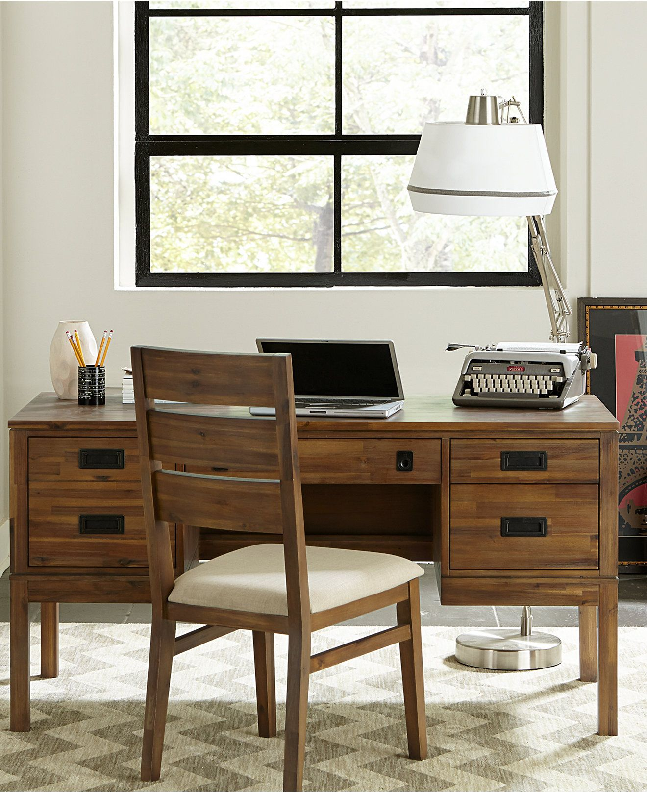 Champagne Home Office Furniture Macy S