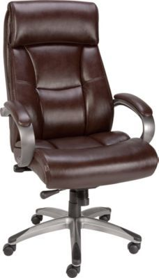 staples has the staples herrick bonded leather executive high