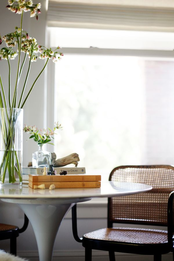 Game Table Nook Design And Styling By The Emerald Studio Via Coco