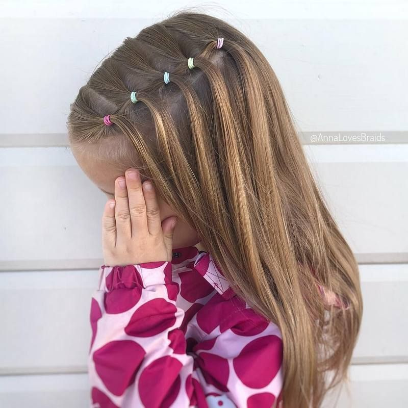 Pretty Hairstyles for School Girls #girlhairstyles Let's make her hairstyle simply appealing just