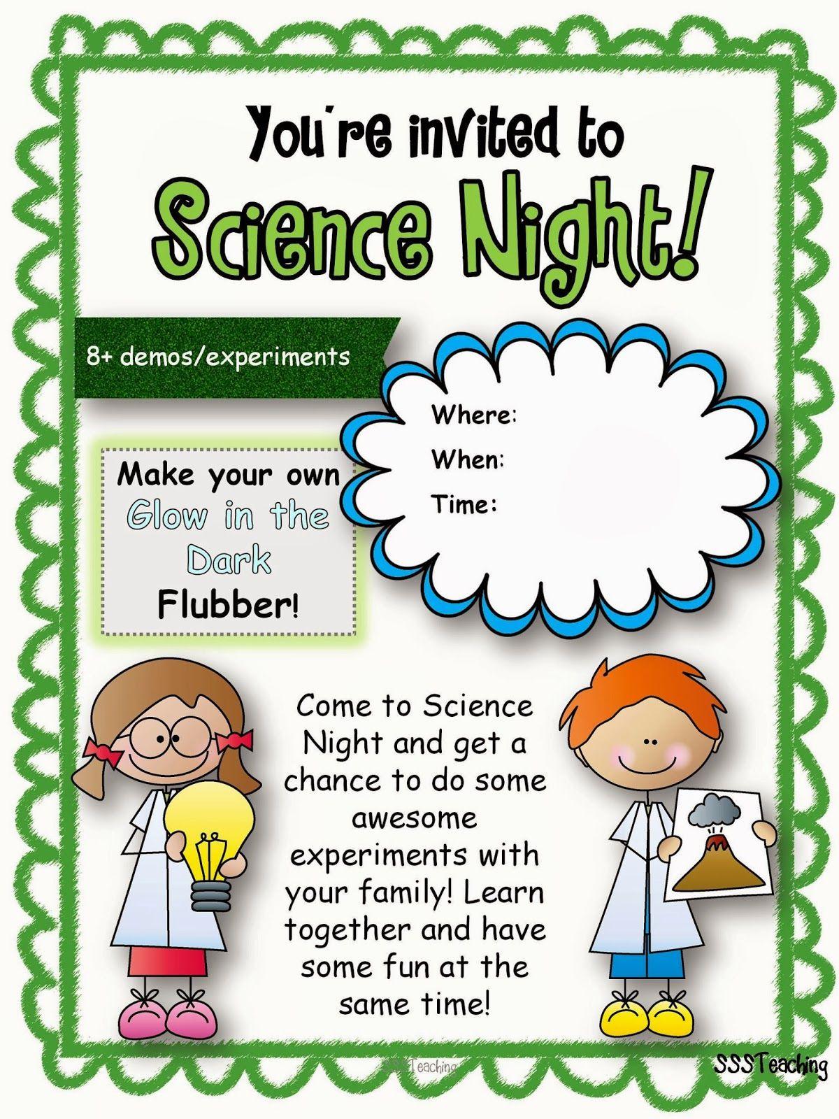 Ultimate Family Science Night Math night, Family night