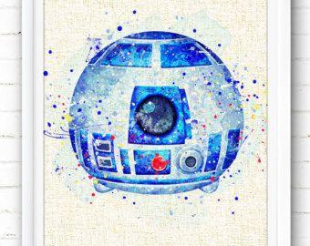 Disney Prints Aladdin Abu Print Tsum Tsum Watercolor Painting