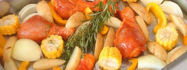 Gegrilde kip uit de oven | Uit Pauline's KeukenUit Pauline's Keuken
