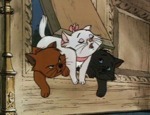 """Because I'm a lady"" - Aristocats"