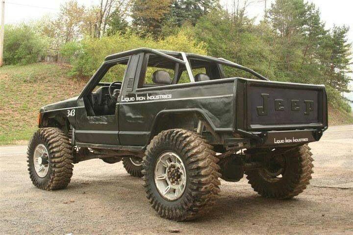 cool jeep comanchie