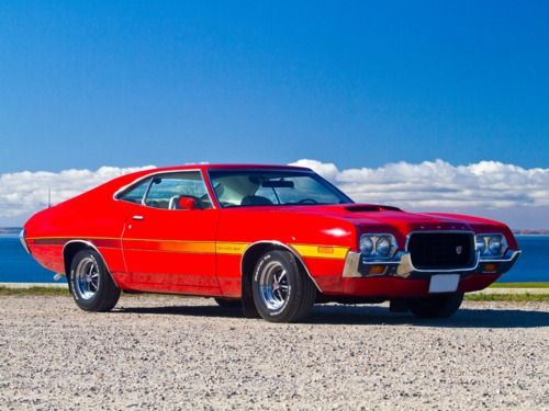 1972 Ford Gran Torino Ford Torino Muscle Cars Old Muscle Cars