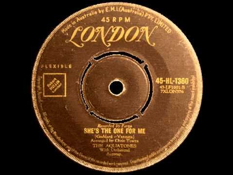 The Aquatones - You (bw) She's the one for me