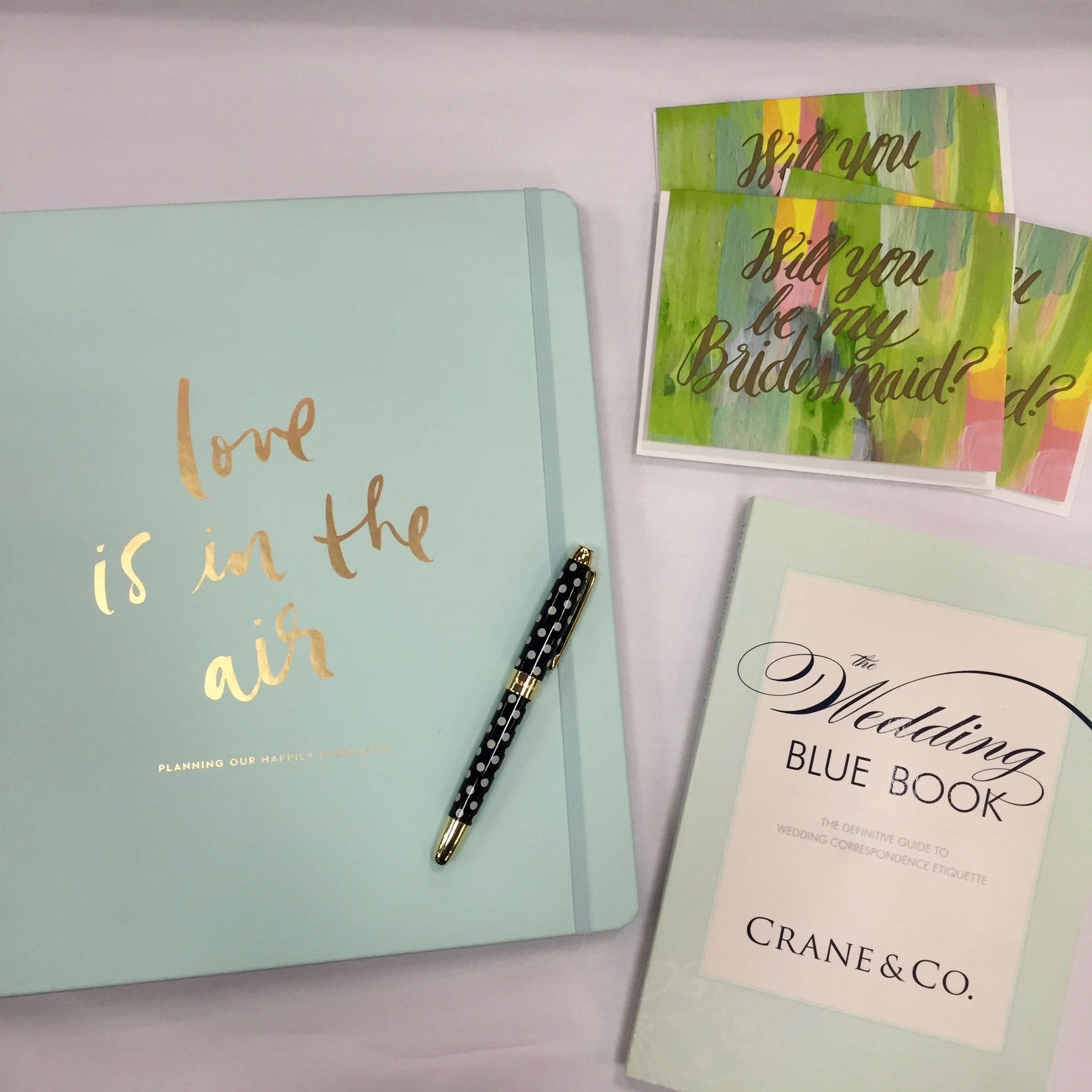 Get ready for wedding planning with this kate spade