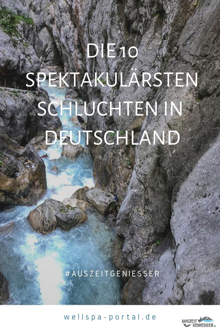 Spektakulärste Schluchten in Deutschland