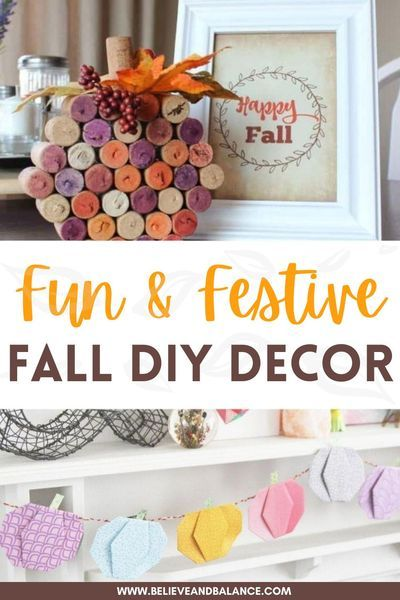 Autumn is creeping upon us and that means it is time to start thinking about decorating your home for fall. DIY fall decor is a great way to save money and decorate when you are on a budget. When you create your own fall decorations, you can create the most beautiful decor. #falldecor #diydecor #falldiydecor #decorateyourhome #falldiydecordollarstore #falldiydecorwreaths&garlands #falldiydecorcrafts