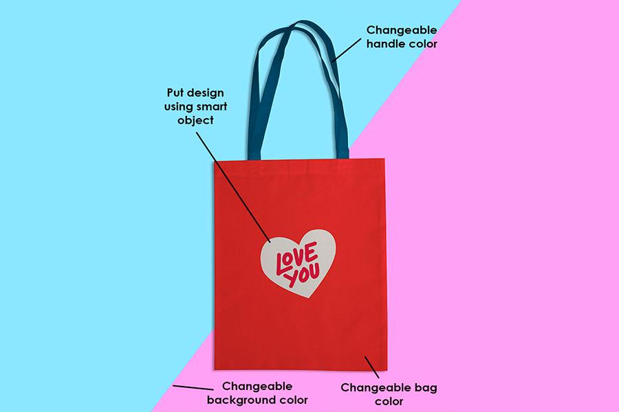 Download Simple Tote Bag Mockup Free Design Resources Bag Mockup Simple Tote Free Tote
