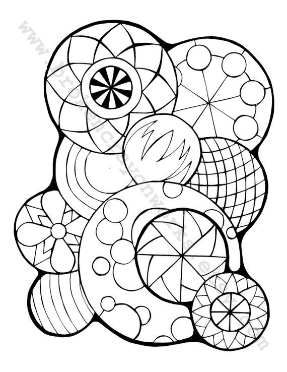 Coloring Page (Circle Again) | Coloring pages, Cool coloring pages, Coloring book pages