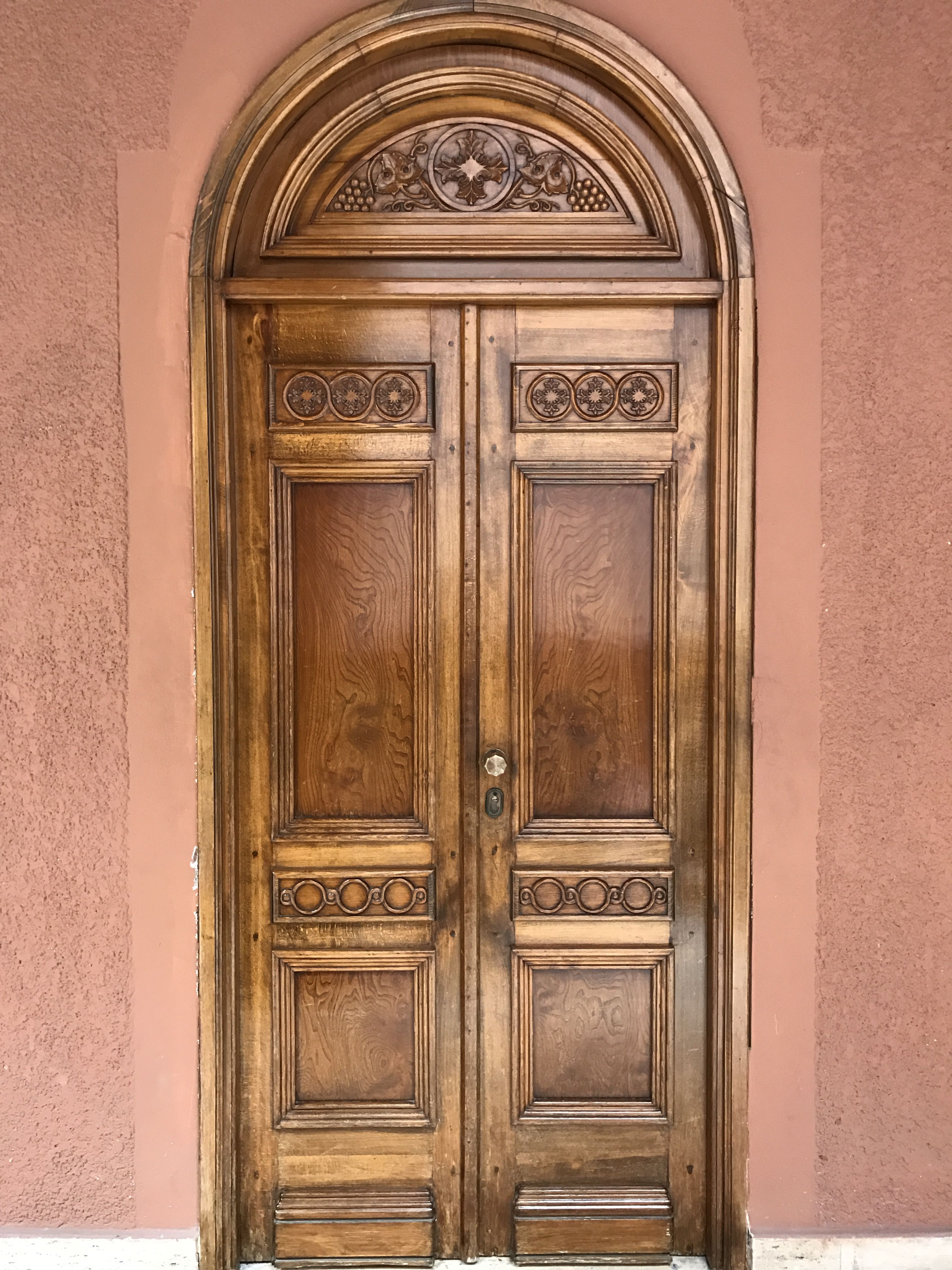 A Door At The Convent Of The Great Saint Philopater Mercurius Abu Sefein In Old Cairo Egypt Vintage Doors Cairo Egypt