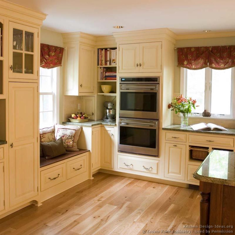 Traditional Off White Kitchen Cabinets: Kitchen Two Toned Kitchen Cabinets Doors Awesome If You