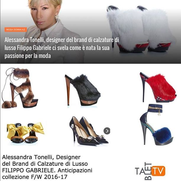 Preview of F/W Collection with Alessandra Tonelli, Art Director of #FilippoGabriele on Tablettv.it Maurizio Noto  #fw #fashion #moda #girl #pumps #shoes #highheels #heels #tartan #shoelover #footwear #fashionista #fashionable #follow #followme #luxury #luxurylifestyle #glam #follower #beauty #cool #chic #shoesoftheday #instafashion #love #black #red #model