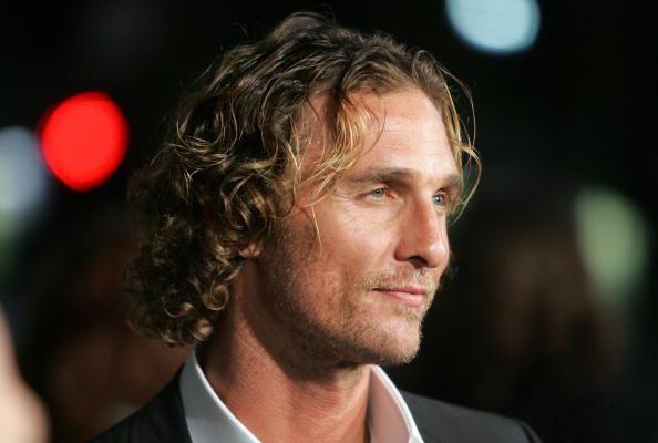 Mathew Mcconaughey Long Curly Hair Men Hair Style Long Hair Styles Matthew Mcconaughey Curly Hair Styles