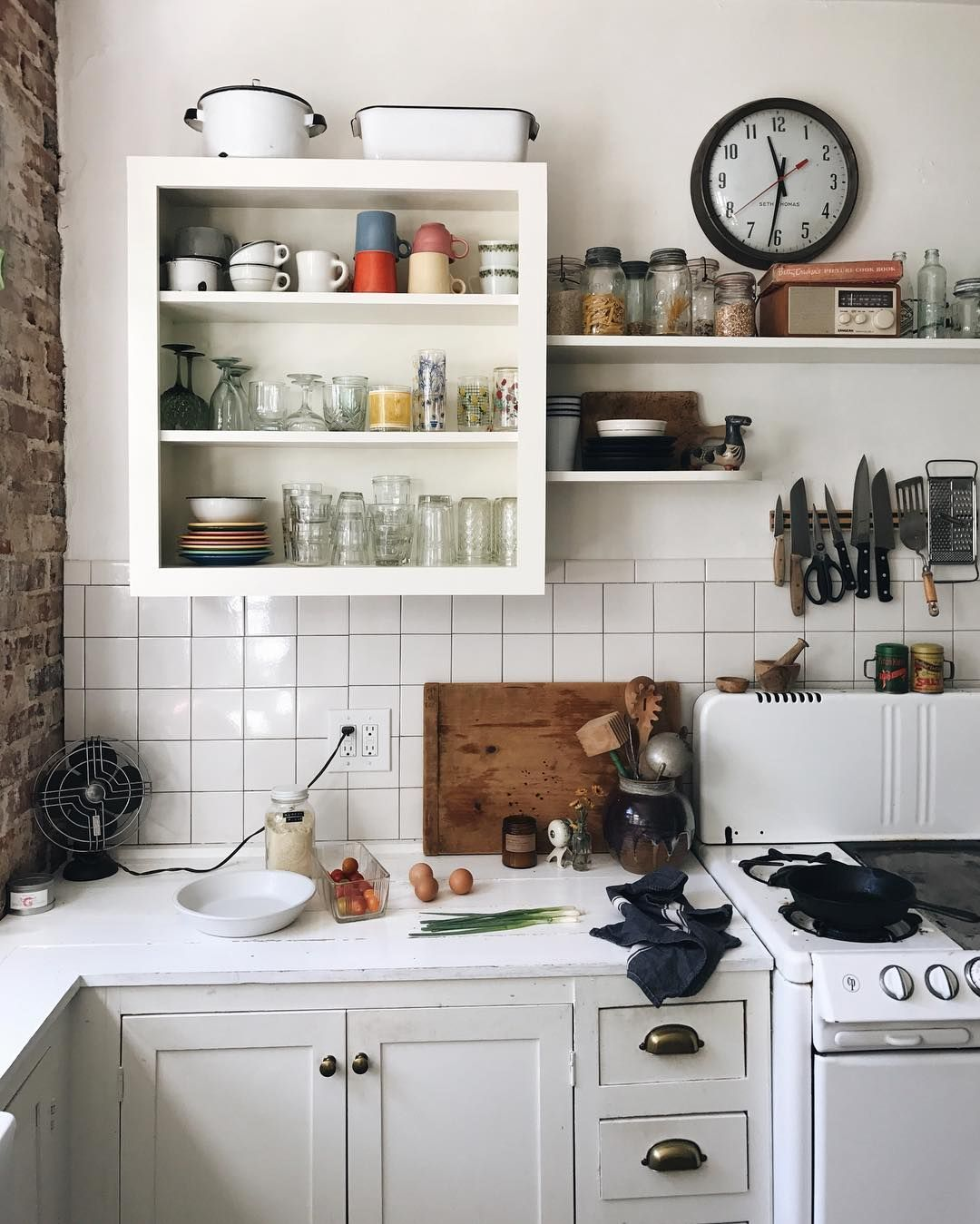 seriously cool open shelving ideas we found on the internet