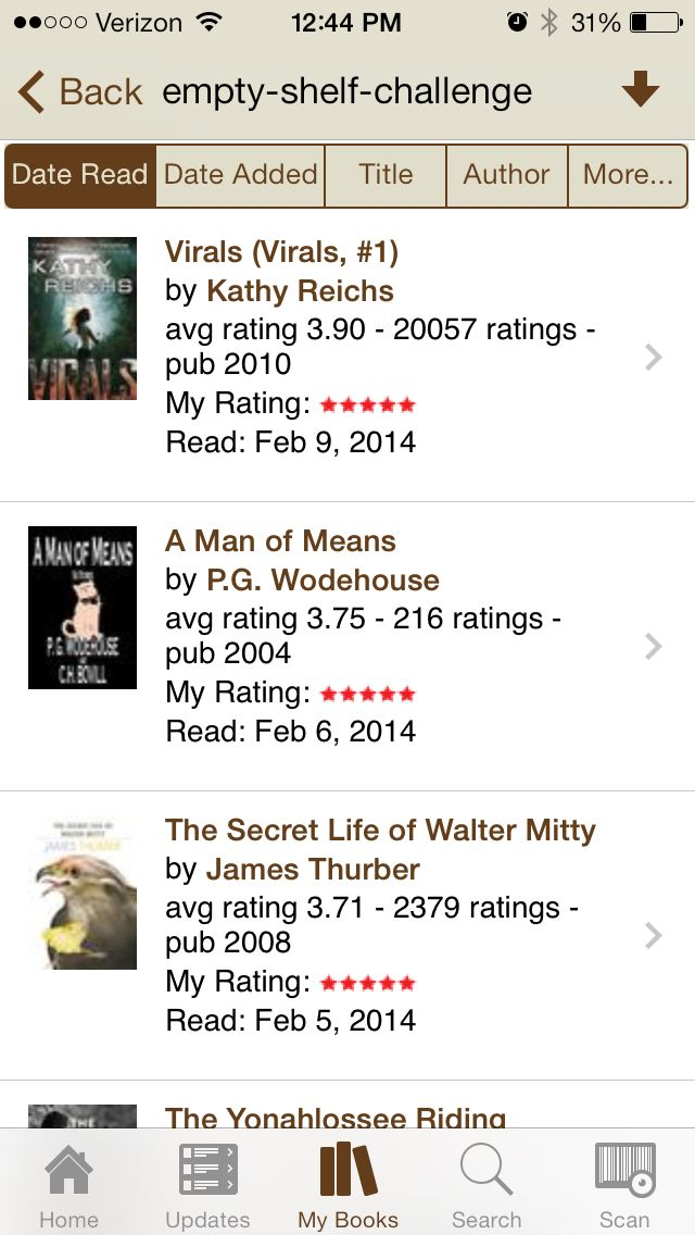 Book #28 Virals by Kathy Reichs. Great book. Fast paced YA novel.