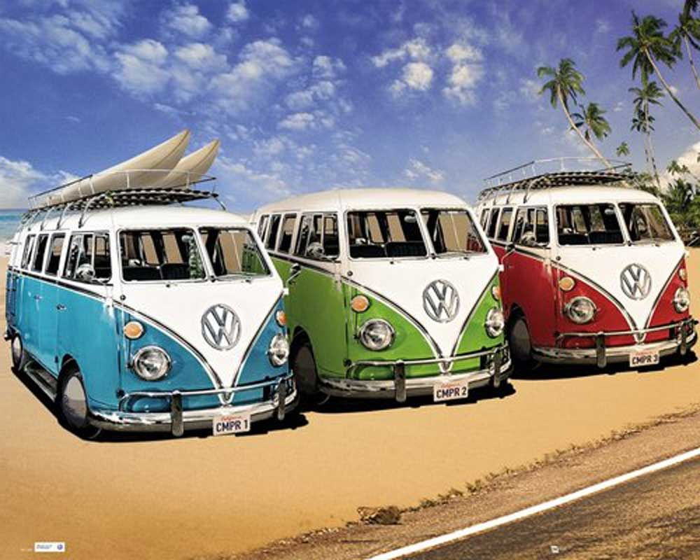Volkswagen Bus Wallpaper For Mac Zjy With Images Classic