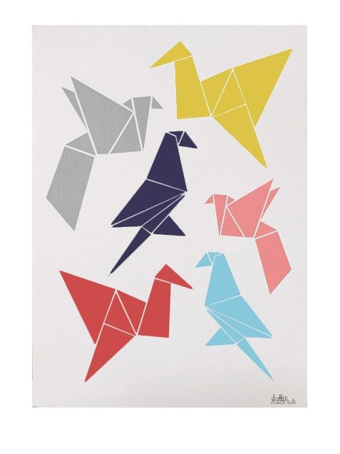 Image Result For Origami Poster Cherry Blossom Pinterest